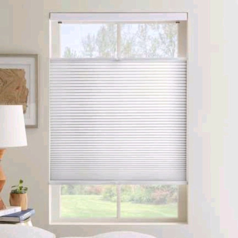 Cordless cellular fabric shades/blinds