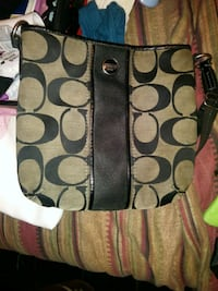 brown and black Coach monogram tote bag Mooresville, 28115