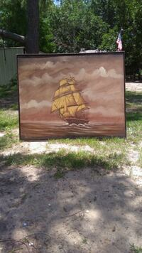 Oil painting Gulfport, 39503