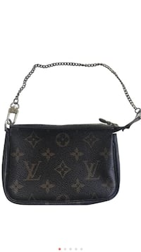 Authentic Louis Vuitton Pochette Accessories in Monogram Alexandria, 22312