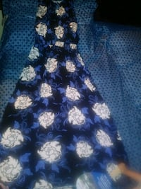 blue&white floral long holster dress San Antonio, 78228