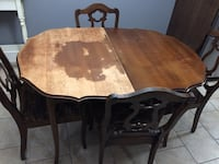 Brown wooden dining table  Kitchener, N2E 3N9