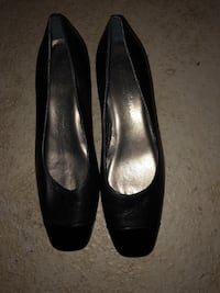 Gently used Italian leather heels