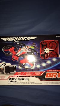 BRAND NEW!!Airhogs fpv race drone box
