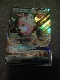 Pokemon Bewear trading card Plainville, 06062