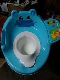 Toddler potty trainer with sound