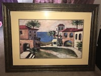 brown wooden framed painting of house Henderson, 89052