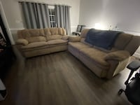 Comfy Brown Recliner Couches **PRICE FIRM** Charlotte, 28213