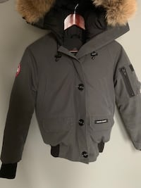 black and gray button up jacket Innisfil, L9S