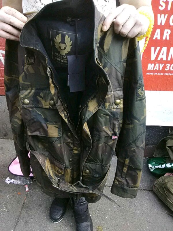 black and gray camouflage jacket 61a49478-7bab-4249-898a-08055a1fd7ac