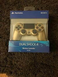 PS4 Gold new unopened controller  New York, 10314