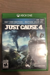 Just Cause 4 day one edition.   Surrey, V3Z 0K7