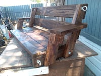brown wooden table with chairs Edinburg, 78539