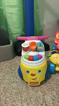 yellow and blue Fisher-Price learning toy Edmonton, T6V 1P8