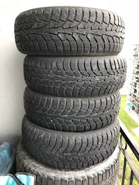 4 winter tires 205 / 60 R 16   Toronto, M4K 2G2