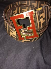 brown and black Fendi leather belt Ottawa, K2C
