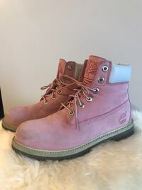 Pink Classic Timberland Size 6 boots