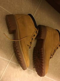 Tan suede timberland work boots Washington, 20540