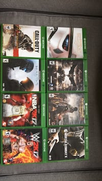 Xbox 1 games Gainesville, 20155