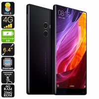 Xiaomi Mi Mix Smartphone - Bezel-less 6.4 Inch Screen, Android 6.0, Snapdragon CPU, 6GB RAM, 256GB Memory, 16MP Camera Málaga