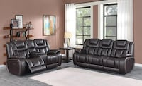 No credit needed high performance leather power reclining sofa & loves College Park