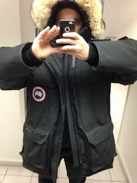 Canada Goose Men's Expedition Large Black 9/10 Montréal