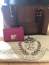 AUTHENTIC RALPH LAUREN LEATHER PURSE AND WALLET Ottawa, K2J