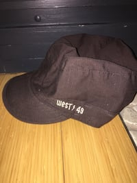 Original West 49 military hat Guelph