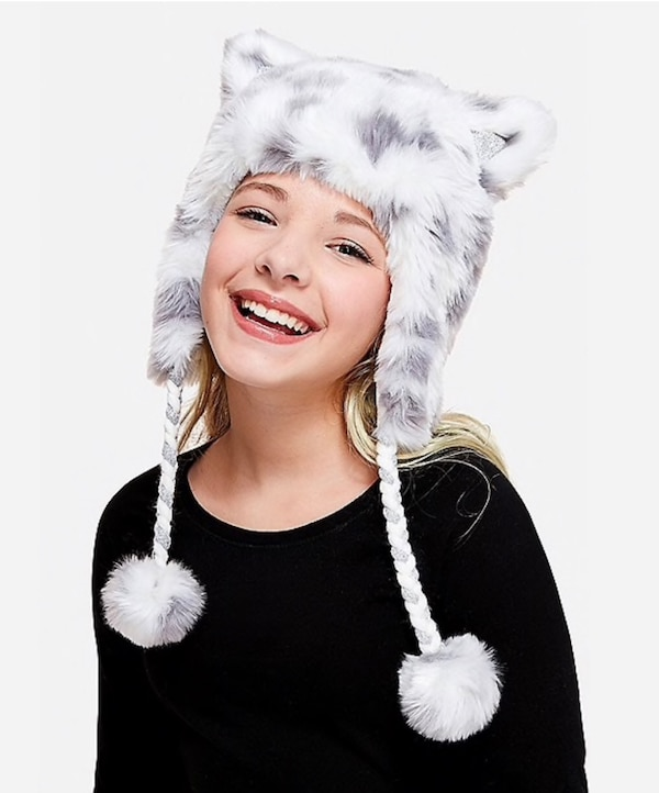 Girls cheetah hat