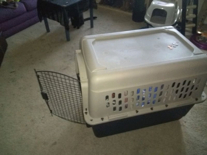 LARGE Dog or Cat Crate/Kennel 2