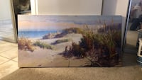 painting of trees near body of water Del Mar, 92014