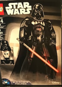 Darth Vader lego build a figure set new in sealed box