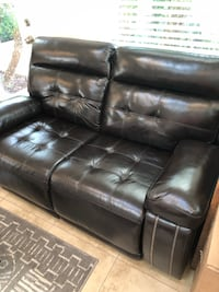 Loveseat - great condition, both sides recline, leather.  San Diego, 92116
