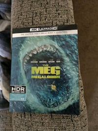 The Megalodon 4K with Blu-ray brand new  727 km