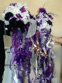 purple and white floral wreath Weslaco, 78599