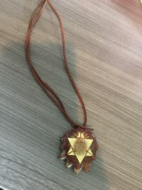 gold-colored pendant necklace Madison, 53705