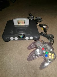 black Nintendo 64 console with controller Imperial Beach, 91932