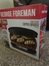 BRAND NEW George Foreman grill set!