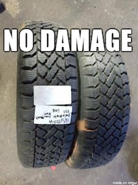 selling A set of set of two _ MOTOMASTER _ 195/70R14 _ all season tires  Port Coquitlam