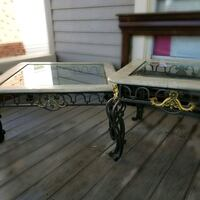 Coffee and End Table marble iron glass Oklahoma City, 73106