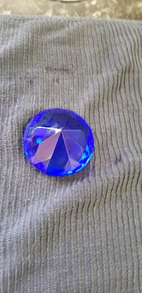Blue Diamond Paperweight  COVENTRY