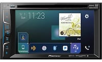 Black and gray pioneer car stereo Gause, 77857