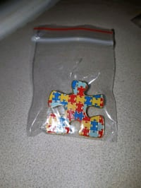 Brooch! Autism Puzzle Awareness! Toronto, M1E 2N1