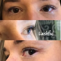 Lash lift and tint Coquitlam