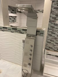 Shower system with jets Brampton, L7A 1H7
