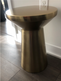 Gold accent table Washington