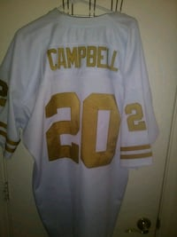 Earl Campbell #20.  jersey