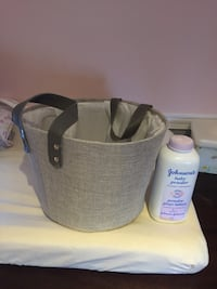 Silver/grey basket (plastic lined) Longueuil, J3Y 8S1