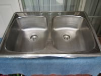 Elkay Stainess Steel Kitchen Sink with Fittings Toronto