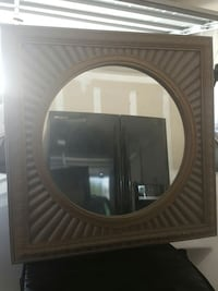 Gold copper mirror